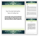 Abstract/Textures: Classic Pattern Word Template #11982