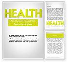 Medical: Word HEALTH Word Template #11995