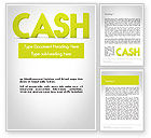 Financial/Accounting: Word CASH Word Template #12007