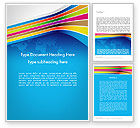 Global: Colorful World Word Template #12013