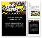 Careers/Industry: Nuclear Energy Debate Word Template #12020