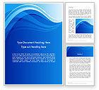 Abstract/Textures: Modello Word - Onda fantasia blu #12025
