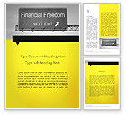 Financial/Accounting: Financial Relief Word Template #12038