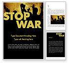 General: Modèle Word de arrêter la guerre #12042