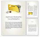 Financial/Accounting: Pay Card Word Template #12043