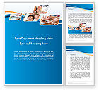 Education & Training: Students and Education Word Template #12066