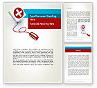 Medical: Donate Online Word Template #12071