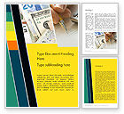 Financial/Accounting: Bookkeeping Theme Word Template #12076