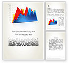 Financial/Accounting: Area Chart Word Template #12098