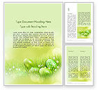 Religious/Spiritual: Easter Theme Word Template #12100