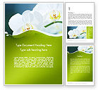 Nature & Environment: Breath of Spring Word Template #12109