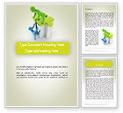 Consulting: Tailored Risk Solutions Word Template #12110