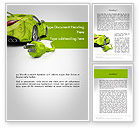 Cars/Transportation: Groene Auto-innovaties Word Template #12118