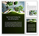 Nature & Environment: Biotechnology Word Template #12149