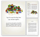 Education & Training: Immobilien investieren Word Vorlage #12153