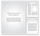 Abstract/Textures: Radial Speed Lines Word Template #12192