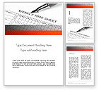 Business: Time Tracking Sheet Word Template #12194