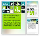 Financial/Accounting: Finance Related Icons Word Template #12210
