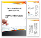 Education & Training: Working with Computer Word Template #12235