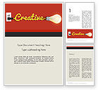 Careers/Industry: Creative Content Ideas Word Template #12244