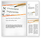 Medical: High Cholesterol Word Template #12255