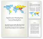 Financial/Accounting: BRIC Countries Word Template #12264