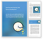 Business Concepts: Available Time Word Template #12270
