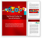 Business Concepts: Winning Strategy Concept Word Template #12292