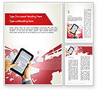 Education & Training: E-reading Word Template #12314