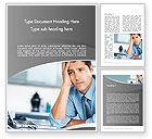 Careers/Industry: Feeling Pressure Word Template #12333