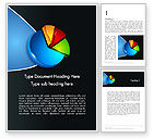Consulting: Segmented Pie Chart Word Template #12346