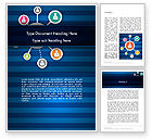 Careers/Industry: Online Business Networking Word Template #12349