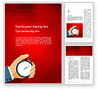 Careers/Industry: Time Tracking Word Template #12362
