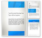 Abstract/Textures: Blue Layers Word Template #12369