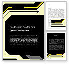 Abstract/Textures: Abstract Sharp Lines Word Template #12384