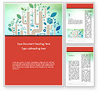 Education & Training: Education and Science Word Template #12395