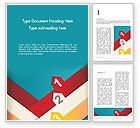 Business Concepts: Colorful Options Word Templat #12449