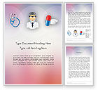 Medical: Hospital Presentation Word Template #12453