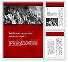 Religious/Spiritual: Worship Word Template #12455