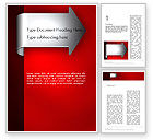 Business: Arrow Tab Word Template #12461
