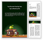 Education & Training: Back to School Education Theme Word Template #12473
