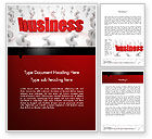 Business: Groeiend Business Concept Word Template #12479