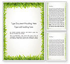Abstract/Textures: Grass Frame Word Template #12480