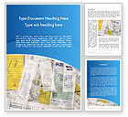 Financial/Accounting: Household Bills Word Template #12489