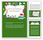 Education & Training: Storybook Word Template #12491