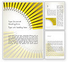 Education & Training: Pencils Arranged in Semicircle Word Template #12497