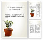 Financial/Accounting: Savings Services Word Template #12531