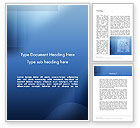 Abstract/Textures: Blue Transparent Layers Word Template #12560