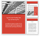Careers/Industry: Air Conditioning Word Template #12576