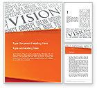 Business Concepts: Vision Plan Word Template #12577